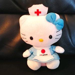 "BOGO🌺Ty Beanie Hello Kitty ""I ❤️JAPAN"" Pl"